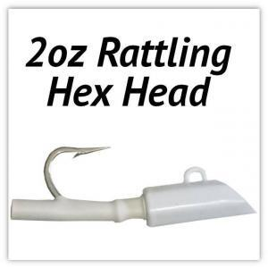 2oz Rattling Hex Head