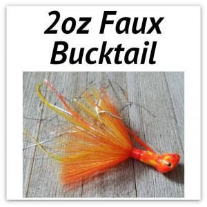2oz Faux Bucktail