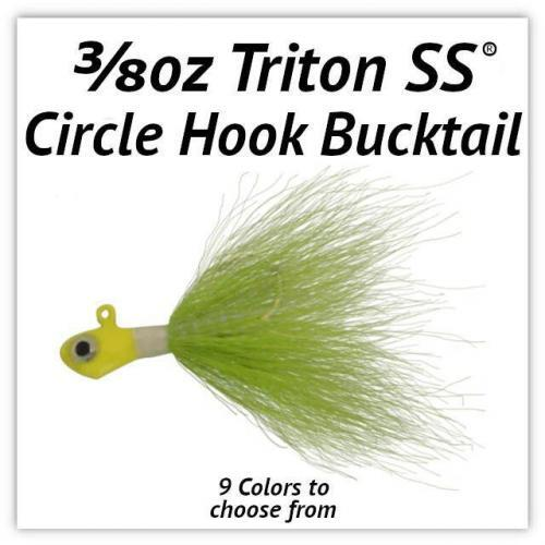 3/8oz Circle Hook Bucktail