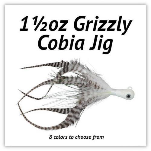 1½oz Grizzly Cobia JIg