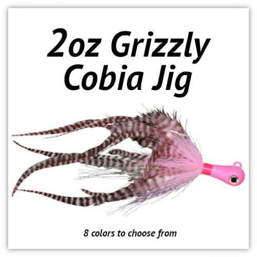 2oz Grizzly Cobia JIg