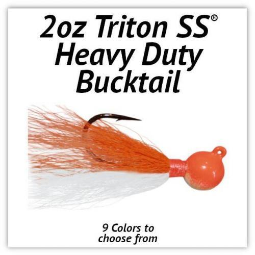 Triton SS® HD Bucktail 2oz