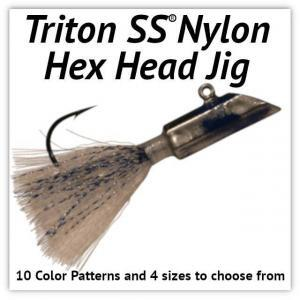 Nylon Hex Head Jig