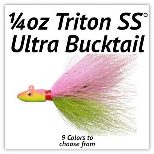 1/4oz Triton SS® Ultra Bucktail