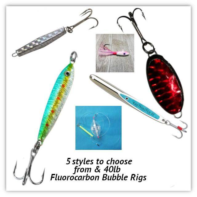 Mackerel Jigs & Bubble Rigs