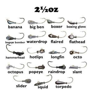 2½oz Cobia Jig Heads